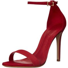 Schutz Women's Cadey-Lee Dress Sandal ($66) ❤ liked on Polyvore featuring shoes, sandals, heels, schutz footwear, dress sandals shoes, heeled sandals, schutz sandals and open toe sandals