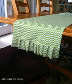 {DIY} St. Patrick's day runner - Home - My House and Home