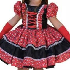 Vestido festa junina Ag Clothing, American Girl, Doll Clothes, Floral, Kids Fashion, Sweet Fashion, Dressmaking, Princess, Caipirinha
