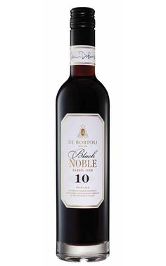 De Bortoli Premium Fortified Black Noble NV Riverina 500ml - 6 Bottles Sweet Wine, Amber Color, Raisin, Whiskey Bottle, Wines, Alcohol, Wine Australia, Paraty, Liqueurs