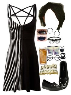 """""""15. Visiting Las Vegas"""" by its-me-destiny on Polyvore featuring Killstar, Hot Topic and Retrò"""