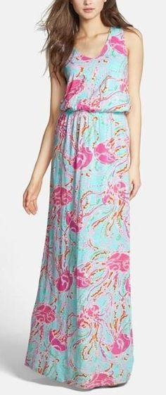 I love floral maxi dresses for summer!
