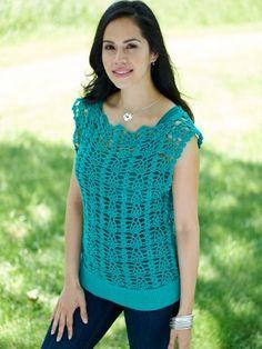 You Tunic Me On | Yarn | Free Knitting Patterns | Crochet Patterns | Yarnspirations