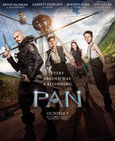 Joe Wright's Pan (2015)