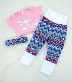 Such a cute outfit with a funny saying! Chevron, mint and coral are super in right now too.