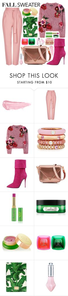 """20 October 2016"" by olgutieuse ❤ liked on Polyvore featuring By Terry, Topshop, Dolce&Gabbana, Adolfo Courrier, Alexander Wang, Tata Harper, The Body Shop, Shiseido and Morgan Lane"