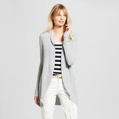 Women's Cardigans - Merona Heather Gray S