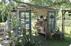 this is a truly fabulous idea for a garden shed a Danish gem