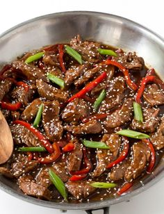 10. Sesame Beef #highprotein #meals http://greatist.com/eat/high-protein-meals-that-dont-involve-chicken