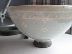 new ceramic bowl.  well, back in August 2010 it was new.