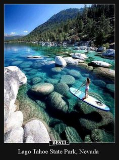 Lago Tahoe State Park, Nevada.. | BESTI.it - immagini divertenti, foto, barzellette, video