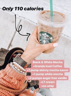I would go with reg chocolate next time! Otherwise, tasted like a zebra mocha! Starbucks Hacks, Healthy Starbucks Drinks, Starbucks Secret Menu Drinks, Starbucks Coffee, Yummy Drinks, Healthy Drinks, Low Calorie Drinks, Oreo Dessert, Ginger Ale