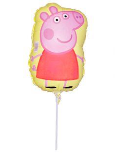 Mini palloncino in alluminio Peppa Pig™ su VegaooParty, negozio di articoli per feste. Scopri il maggior catalogo di addobbi e decorazioni per feste del web,  sempre al miglior prezzo!