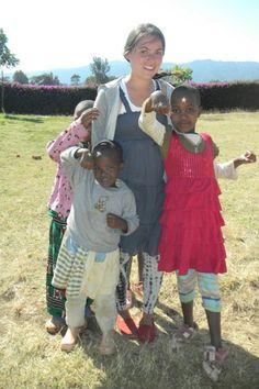 Michelle in Tanzania