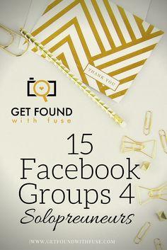 face groups for bloggers, entrepreneurs