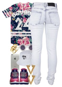"""""""Untitled #1332"""" by power-beauty ❤ liked on Polyvore featuring Stussy, Chanel and Cheap Monday"""