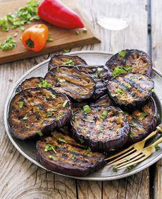 Balsamic Marinated Grilled Eggplant