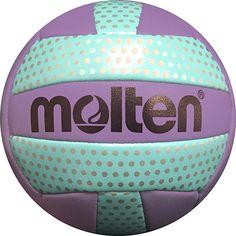 Molten Mini Prple/Aqua Dots Volleyball