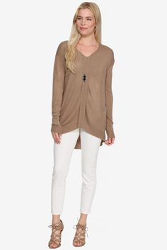 Knit Tunic Sweater by BB Dakota at Le Tote