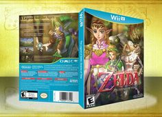 The Legend of Zelda: Ocarina of Time Wii U Box Art Cover by Spiderpig24