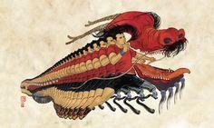 Bernstein & Andriulli - News - Yuko Shimizu Wins Four Awards in Illustration Annual