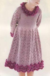 Artesanato diversão e prazer: vestidos em croche