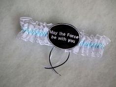 Star Wars rajongók előnyben - esküvői combcsipke egy kicsit másképp :)