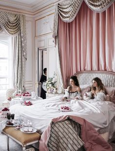 A look inside the newly renovated Ritz Paris with actors Anna Brewster, Noémie Schmidt, and George Blagden. Photographed by Mikael Jansson, Vogue, July My New Room, My Room, Estilo Kitsch, Vogue Us, Luxe Life, Breakfast In Bed, Grand Hotel, Luxury Lifestyle, Editorial Fashion