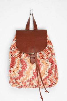crochet backpack from Urban Outfitters