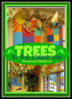 Trees in the Classroom (RoundUP via RainbowsWIthinReach)