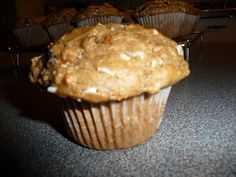 Spiced Carrot Coconut and Raisin Gluten Free Muffins http://sherievenner.com/thesehealthyelements/spiced-carrot-coconut-raisin-gluten-free-breakfast-muffins/