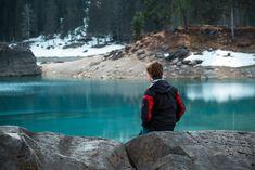 Lakeside, at Caumasee, Switzerland Switzerland, My Photos, Twitter, Blue, Instagram