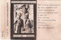 William S. Burroughs + Brion Gysin + Genesis P-Orridge - Cold Spring Tape