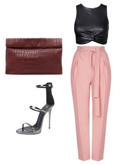 """""""Sassy"""" by mztils on Polyvore featuring interior, interiors, interior design, home, home decor, interior decorating, Topshop, Giuseppe Zanotti and Marie Turnor"""