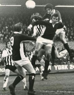 York City 1 Grimsby Town 1 in Dec 1973 at Bootham Cresent. Chris Topping has a header saved in the Division 3 clash. Grimsby Town Fc, Division, Header, 1970s, Football, York, Concert, City, Places