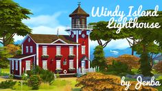 Sims 4 CC's - The Best: Lighthouse by Jenba Sims