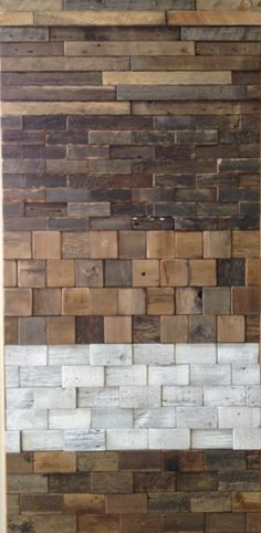Wood tiles, I like all but the white