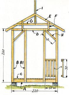 Englantilainen huvimaja - Tee itse - suomela.fi Arch, Outdoor Structures, Mirror, Home Decor, Homemade Home Decor, Mirrors, Arches, Decoration Home, Bow