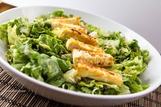 Caesar Salad, only a 100 times better made from scratch #vegan