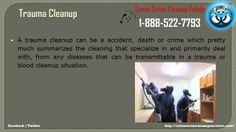 Crime Scene Cleanup Toledo   1-888-522-7793   Death,Blood,Accident,Traum...
