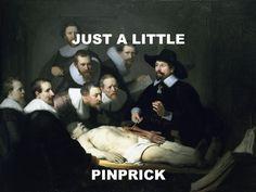 Comfortably Numb - Pink Floyd / The Anatomy Lesson Of Dr Nicolaes Tulp - Rembrandt Van Rijn