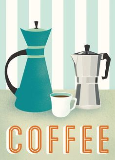 Coffee Koffie Poster