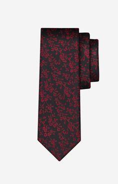 DA Bordowy krawat WÓLCZANKA - J2B6XJ9953