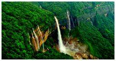 Must visit place: Nohkalikai Falls, Assam