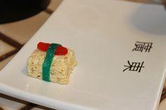 "Rice Krispie Treat ""Sushi"""