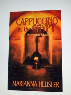 Two Catholic school teachers stumble on a gruesome secret buried in the crypts of Sicily. On sale 99 cents - http://www.amazon.com/Cappuccino-at-Crypt-Marianna-Heusler/dp/1591333229/ref=sr_1_1?s=books&ie=UTF8&qid=1439918715&sr=1-1&keywords=cappuccino+at+the+crypt