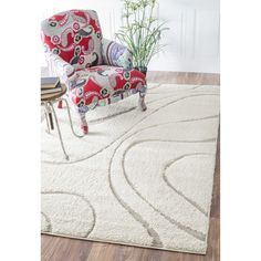 nuLOOM Luxuries Posh Ivory/Beige Shag Rug - Overstock™ Shopping - Great Deals on Nuloom 7x9 - 10x14 Rugs
