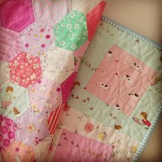Hand V machine quilting for comparison | by aneela hoey