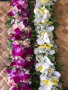 Flower Garland Wedding, Flower Garlands, Wedding Garlands, Pink Hydrangea, Purple Orchids, Casket Flowers, Silk Flowers, Candle Wedding Centerpieces, Wedding Decorations