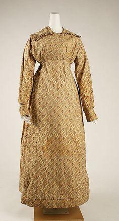 Dress Date: ca. 1818 Culture: British Medium: cotton Accession Number: 1983.152